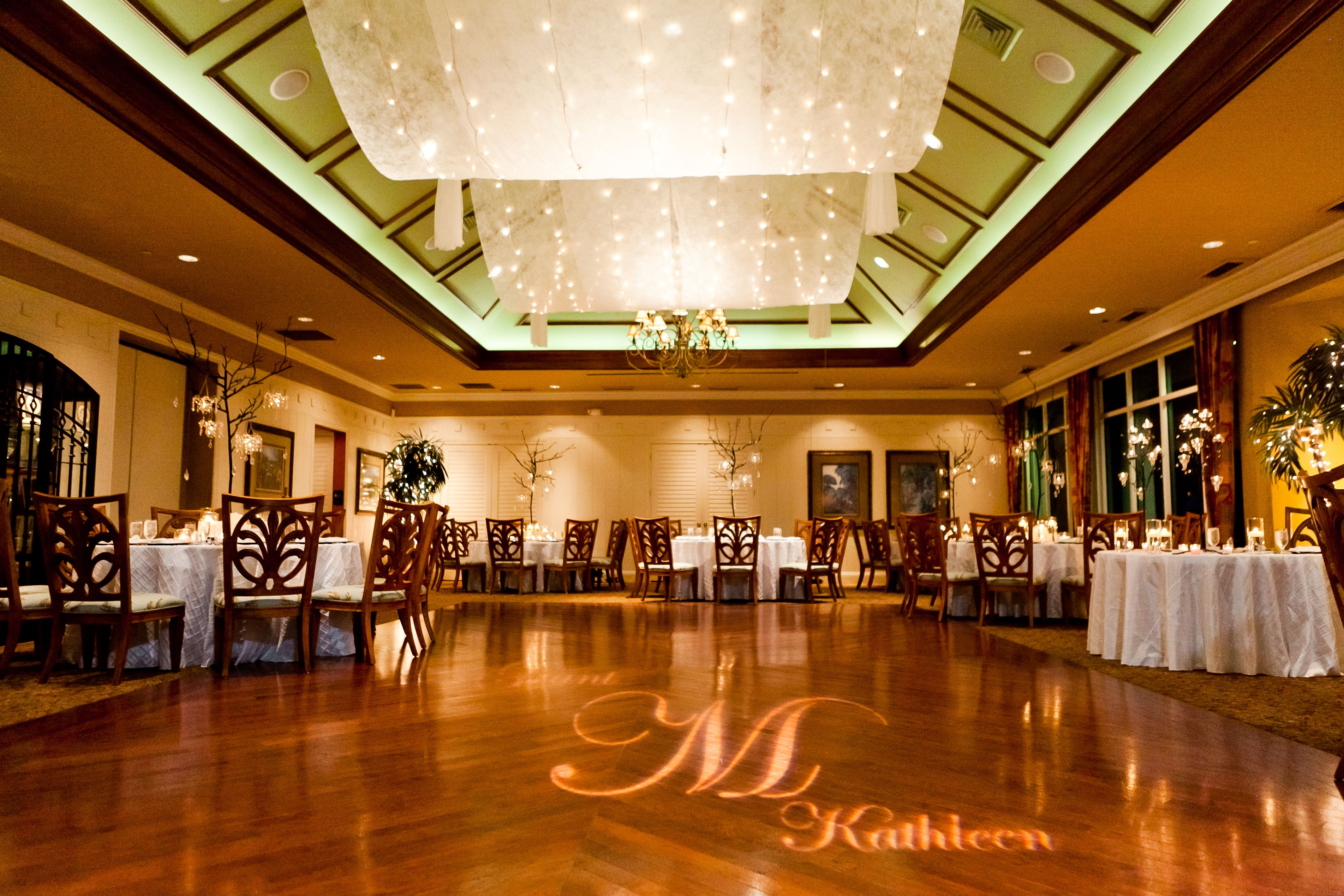 University Park Country Club With Uplighting Lots Of
