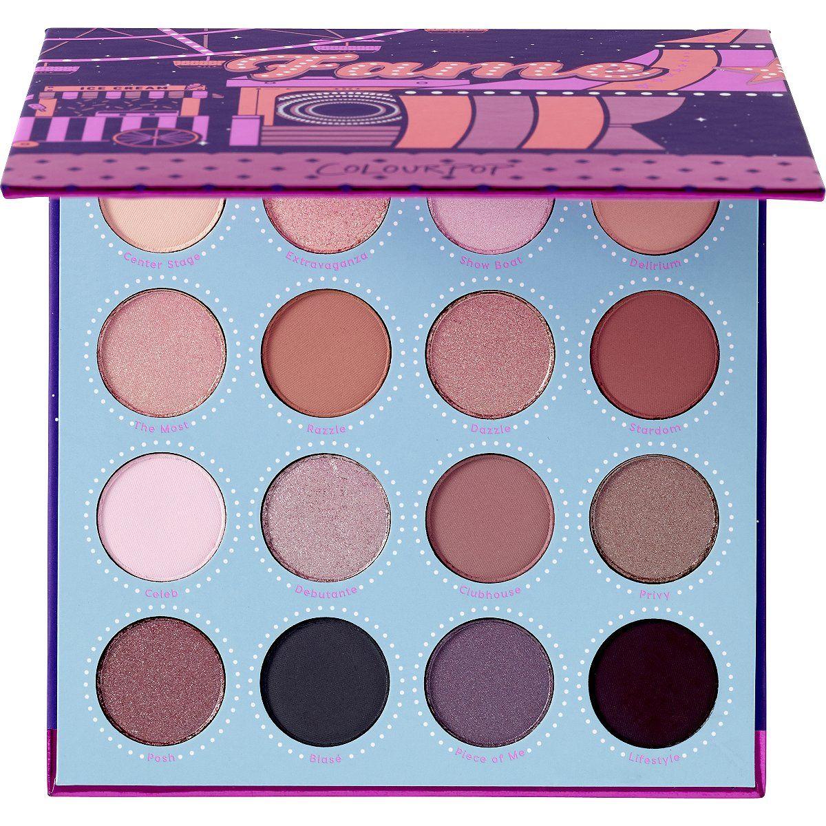 ColourPop Fame Pressed Powder Eyeshadow Palette Ulta