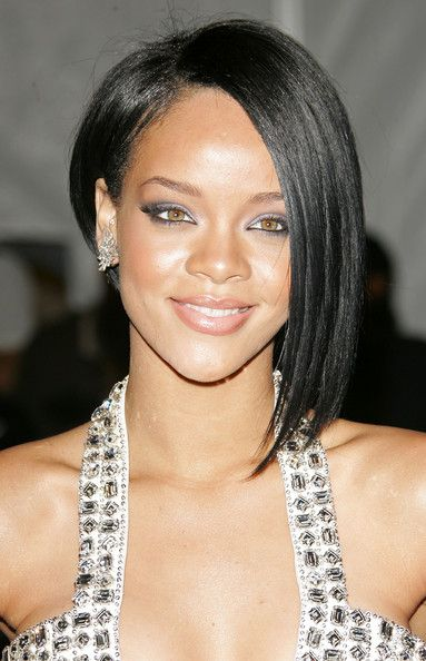 Best Medium One Side Short And Long Hairstyle Black Women Trendy