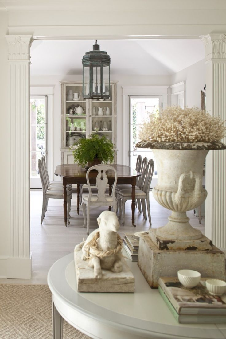 The Only Six White Paint Trim Colors You'll Need is part of French country dining room decor - In my 25 year career, these are the only white paint trim colors I've ever specified  Just these six, says New York Interior designer Laurel Bern