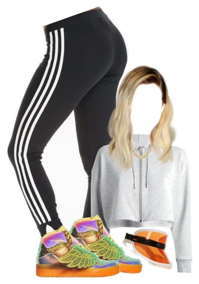 """""""Why does it feel like 11 something"""" by ilovenuttelacats ❤ liked on Polyvore featuring adidas Originals, Yves Saint Laurent, adidas, Pieces and Fendi"""
