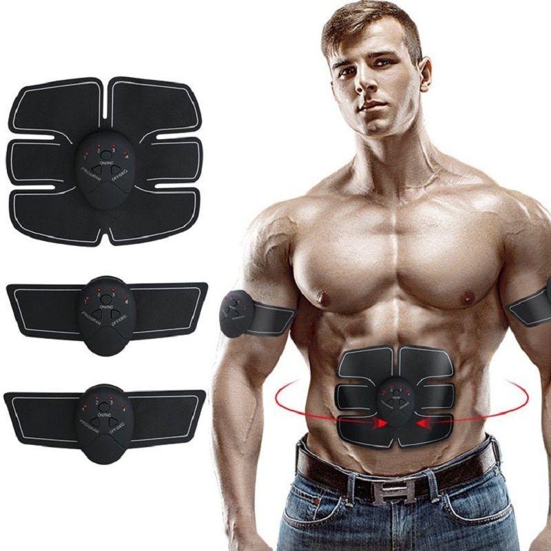 EMS Trainingsgerät Bauchmuskeltrainer Muskelstimulator ABS Stimulator für Bauch