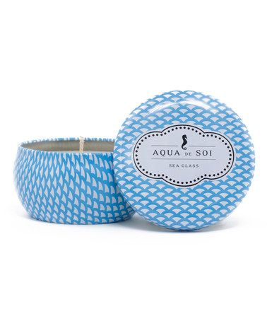 Love this Sea Glass 9-Oz. Soy Candle on #zulily! #zulilyfinds