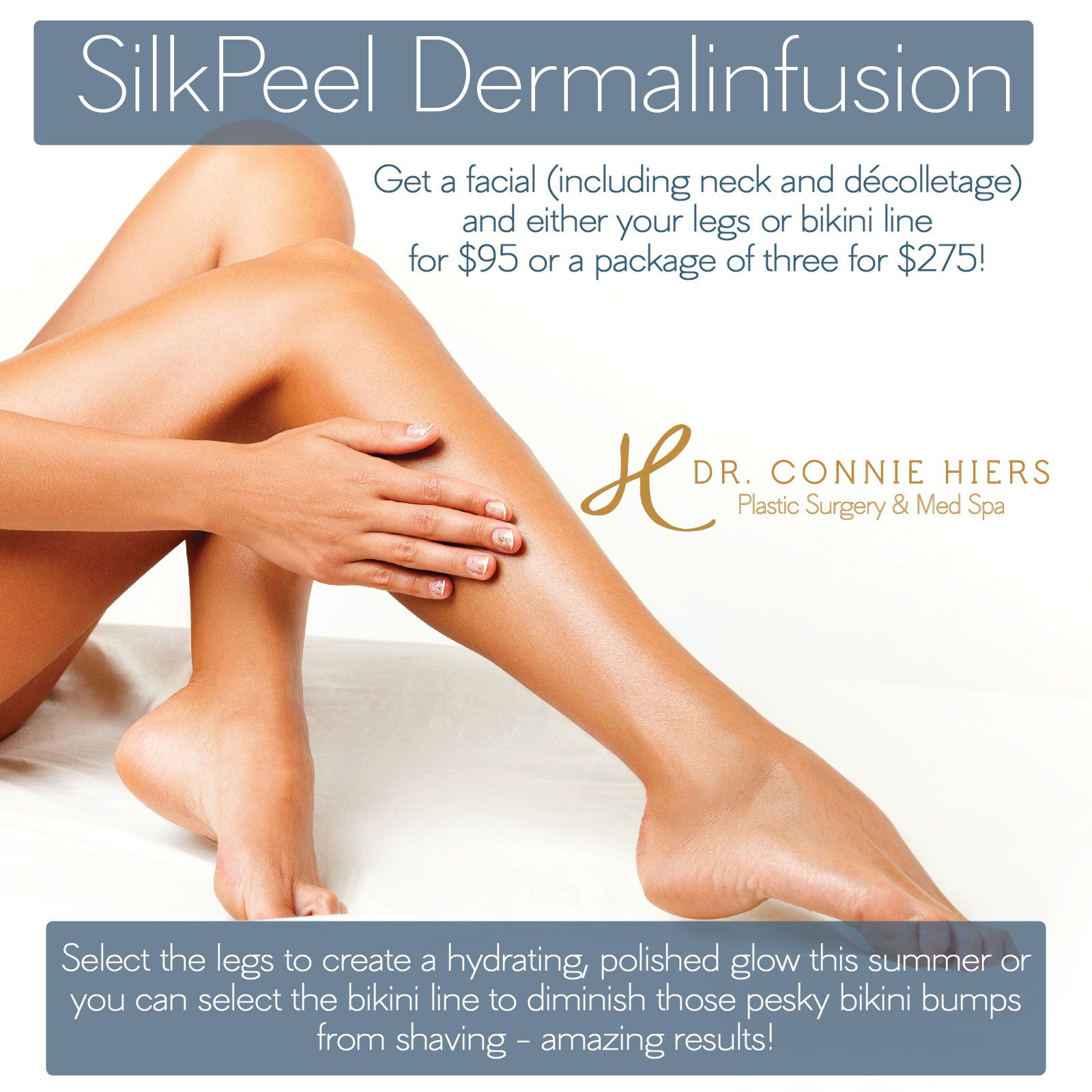 Keep Your Face And Body Beautiful And Glowing Through The Summer With Our Silkpeel Dermalinfusion Combo Call To Schedule Med Spa Plastic Surgery Face And Body