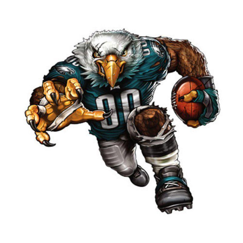 Philadelphia eagles mascot. Fathead nfl wall decal