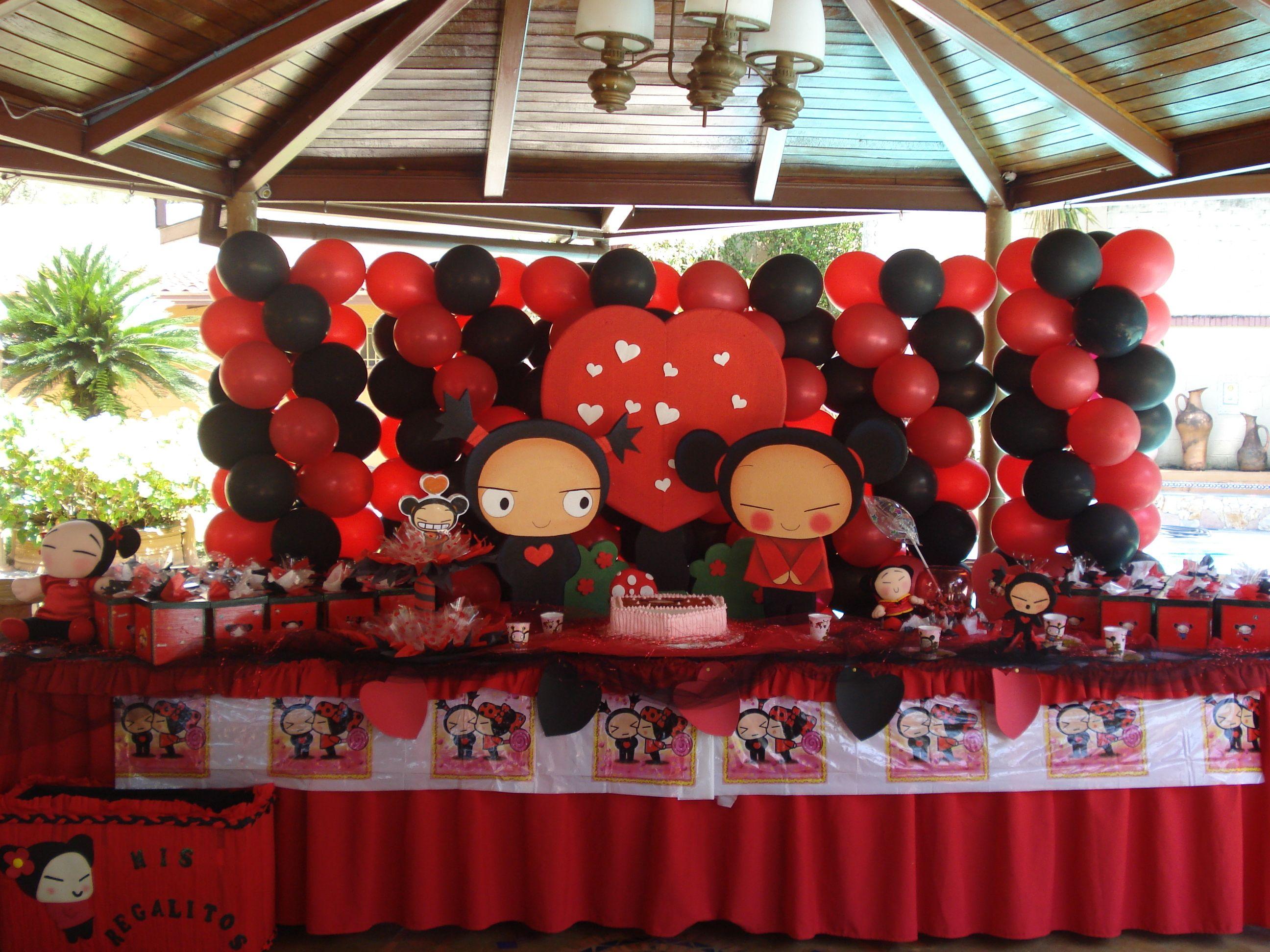 Decoracion de pucca cumple cami pinterest fiesta fiesta cumplea os y Decoracion de cumpleanos