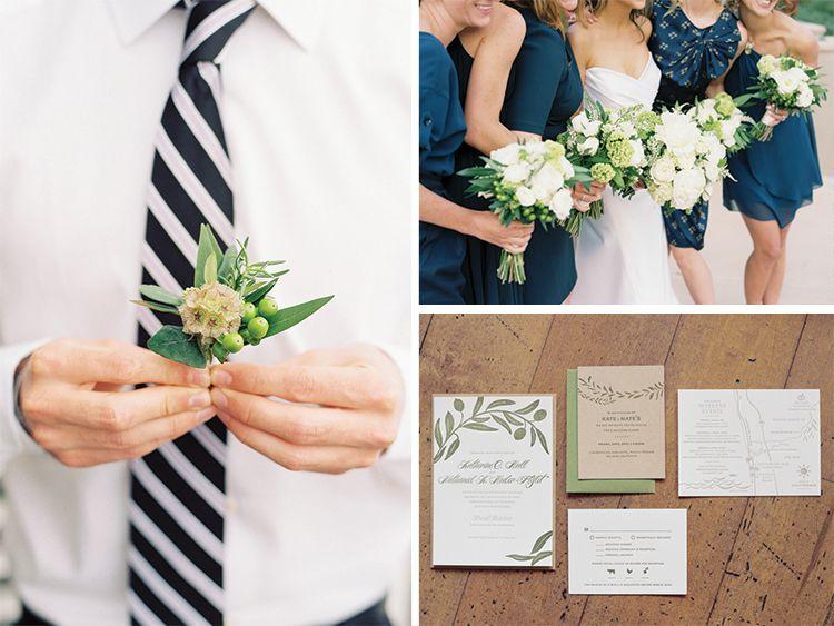 Published: Style Me Pretty // Kate & Nate // Al Fresco Del Mar Wedding | Sweet Marie Designs