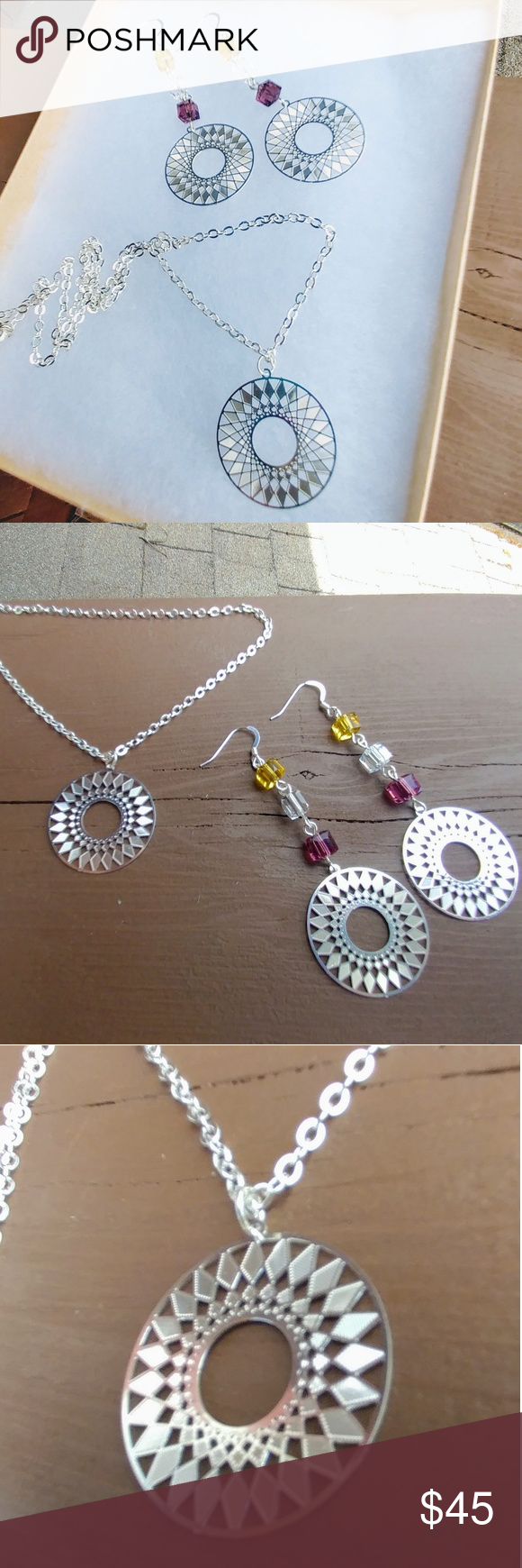 Mandala jewelry set boutique in my posh picks pinterest