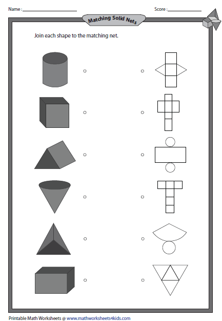 3D Shapes worksheets | Teaching Geometry | Pinterest | 3d shapes ...