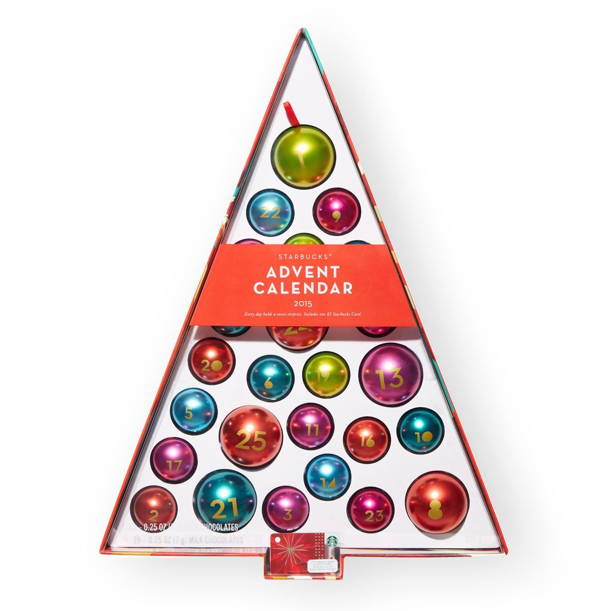 Starbucks® Advent Calendar 2015 | Christmas Decor Goals | Pinterest ...