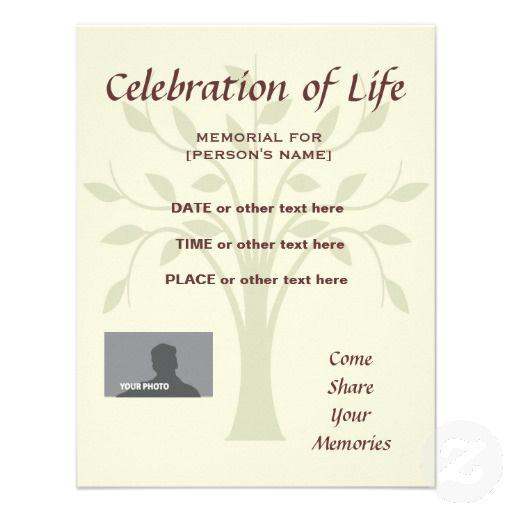 Memorial Celebration Of Life Burgundy Invitatation Invitation Zazzle Com Celebration Of Life Memorial Service Invitation Celebrities