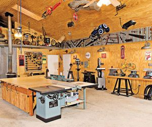 Dream it, do it! | Woodworking shop plans, Garage makeover ...