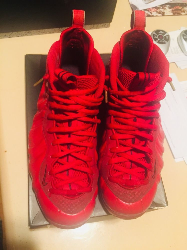 premium selection ca535 0d1ee Nike Air Foamposite Pro Gym Red October Gold Yeezy Mens Size 11 Used   fashion  clothing  shoes  accessories  mensshoes  athleticshoes (ebay link)