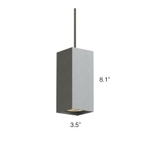 Qube 200 Lx Pendant Q2lp Small Pendant Lights Suspended
