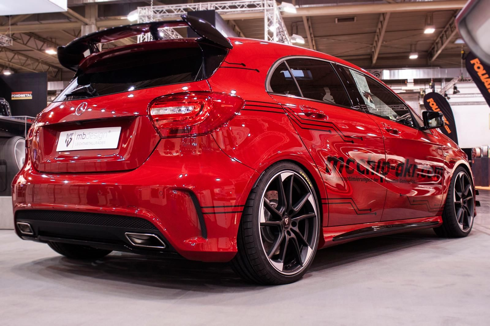 MercedesBenz A45 AMG tuned by mcchipdkr  Mercedes Tuning Mag