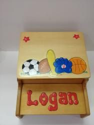 Step and Store  Sports theme by KidoodlesKorner on Etsy, $64.99
