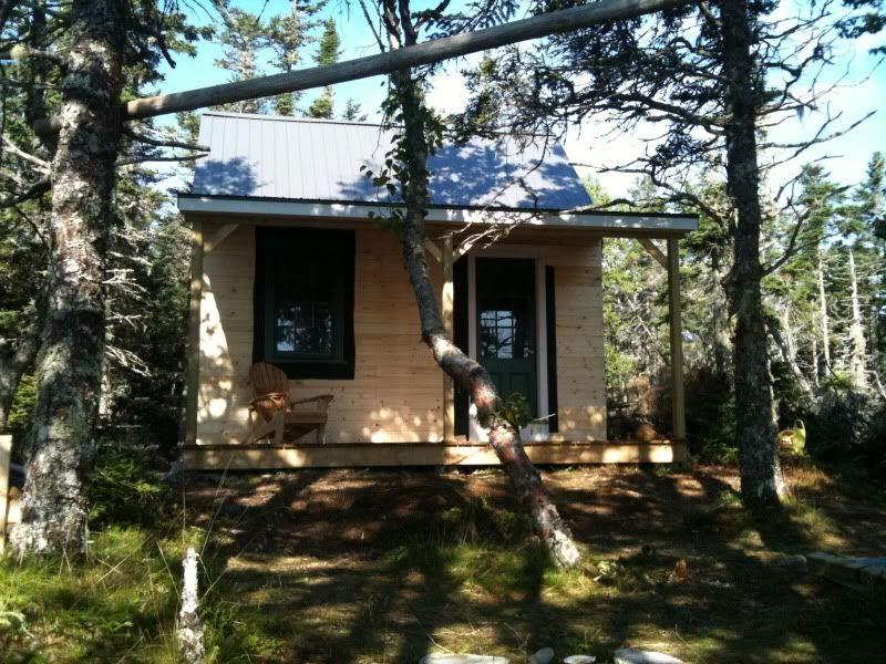 12 x 16 cabin | Re: 12 x 16 island cabin in Nova Scotia