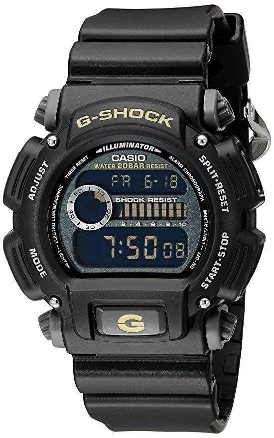 Casio Men's GShock DW90521BCG Black Resin