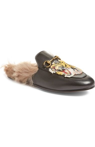 Pin on Gucci Fur Loafers