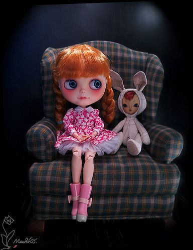 Yonks Ago...there was Hope n' Rabbit   Model: Hope, Travelin…   Flickr