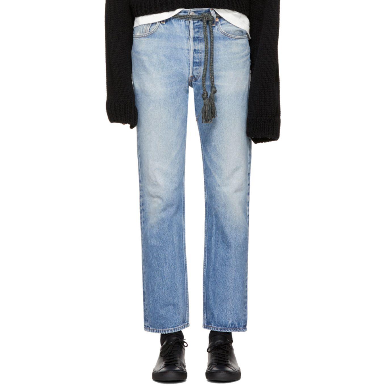 ad7d0e3e B Sides - Indigo Cinch Jeans   wishlist   Jeans, Mom jeans, Pants