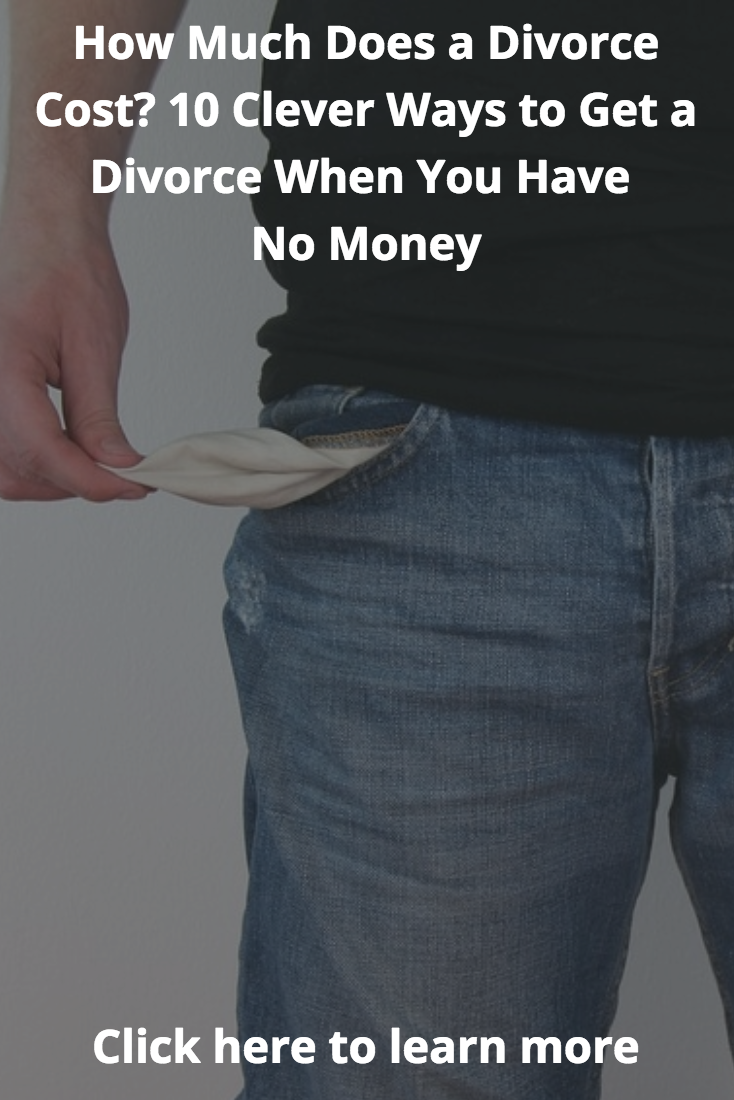 How much does a divorce cost 10 clever ways to get a divorce when how much does a divorce cost 10 clever ways to get a divorce when you have no money solutioingenieria Image collections