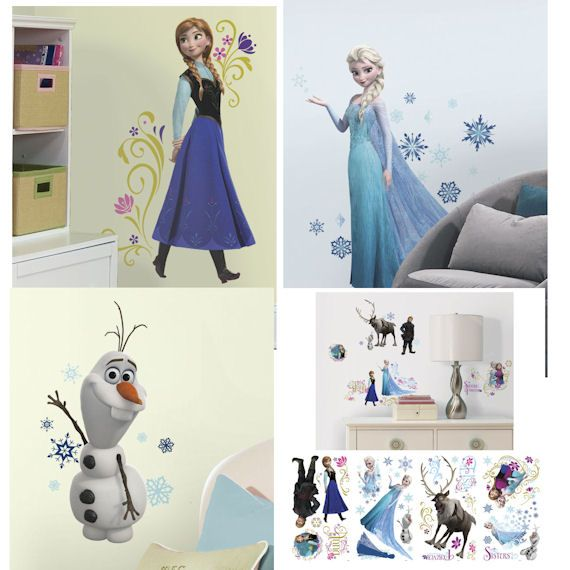 Frozen bedroom roomgirls pinterest habitaci n for Cuartos para ninas frozen
