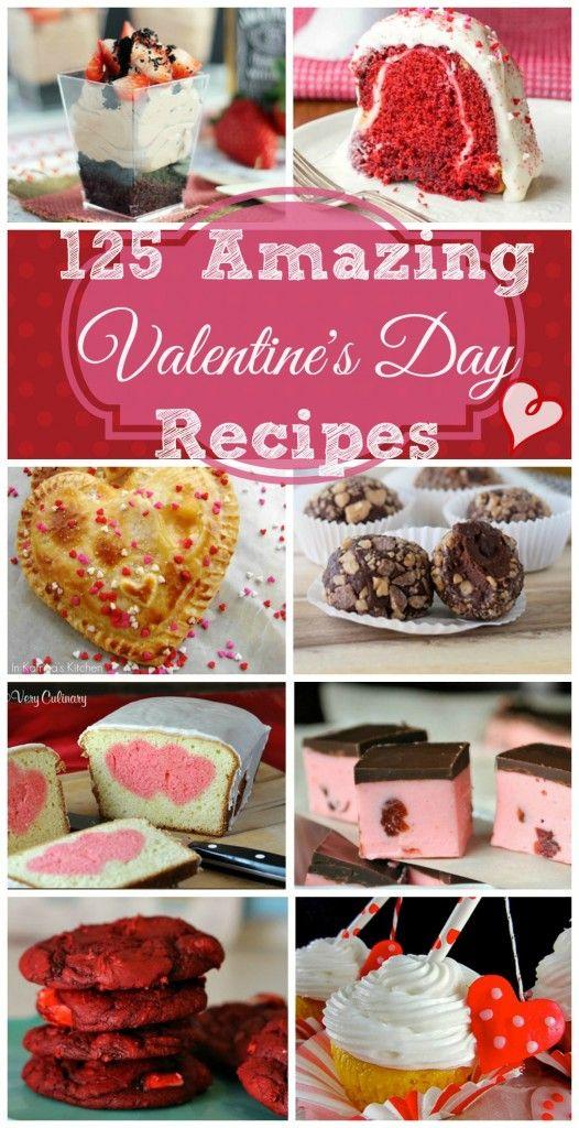 Amazing Valentines Day Desserts Valentines Day Food Valentine S Day Recipes Valentines Day Desserts