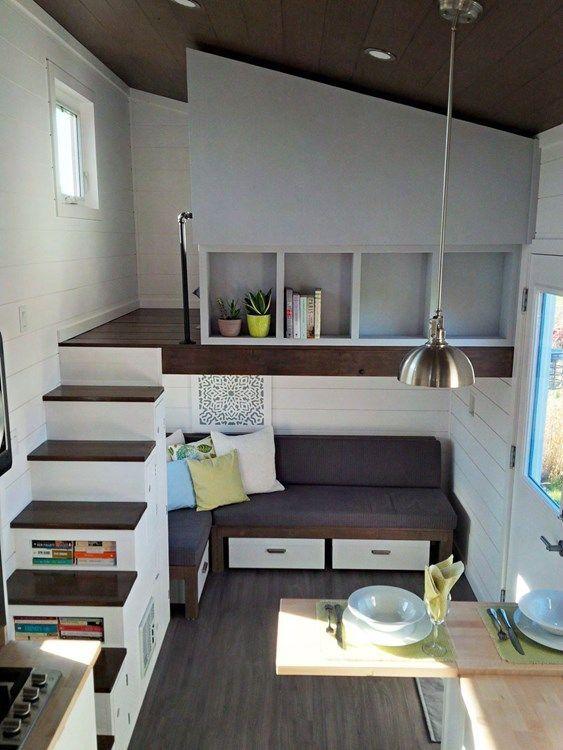 900 Tiny House Ideen In 2021 Wohne Im Tiny House Kleines Haus Einrichtung Haus