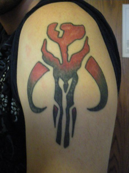 Mandalorian Skull Tattoo By Mace Xiantart On Deviantart
