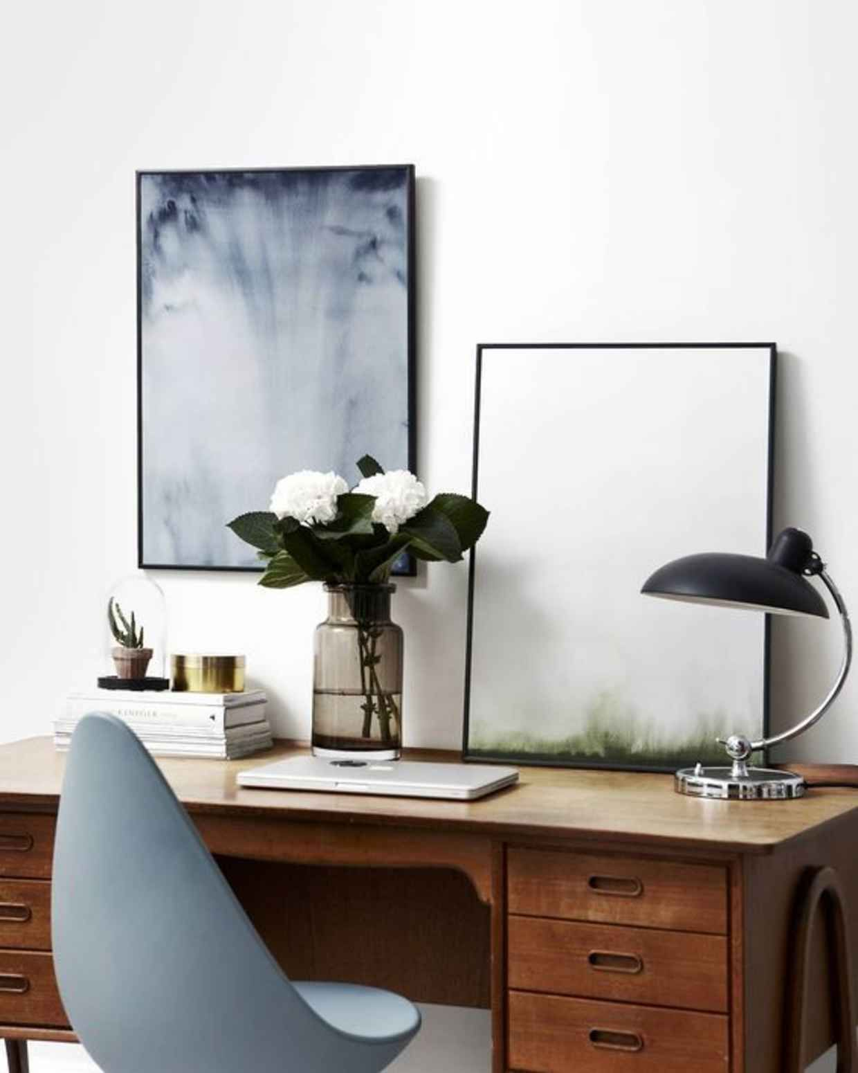 Minimal Interior Design Inspiration #42 | Home office ...