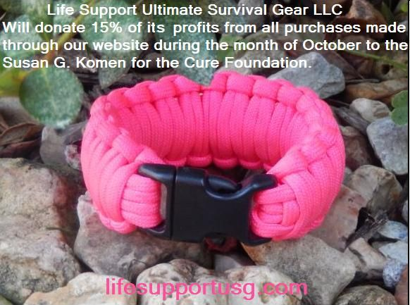 Survivalbracelets Supports Susangkomen Komenforthecure