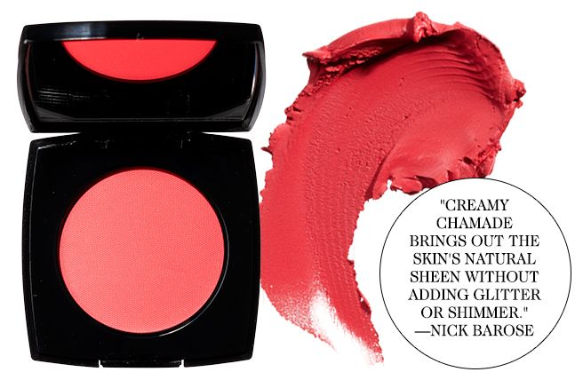 Universal Beauty Products For Every Skin Type - Elle Chanel cream blush in Chamade Charlotte Tilbury's luxury palette in The Dolce Vita Nars audacious lipstick in Lana