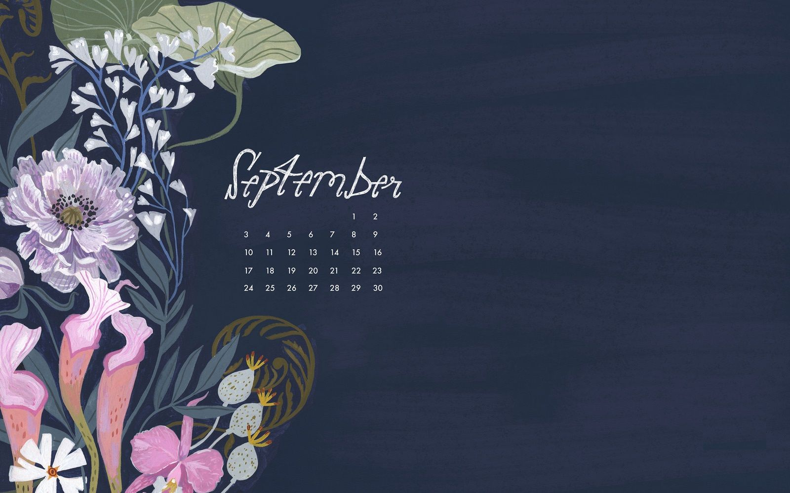 September 2018 Calendar Wallpapers Calendar Wallpaper September Wallpaper Wallpaper