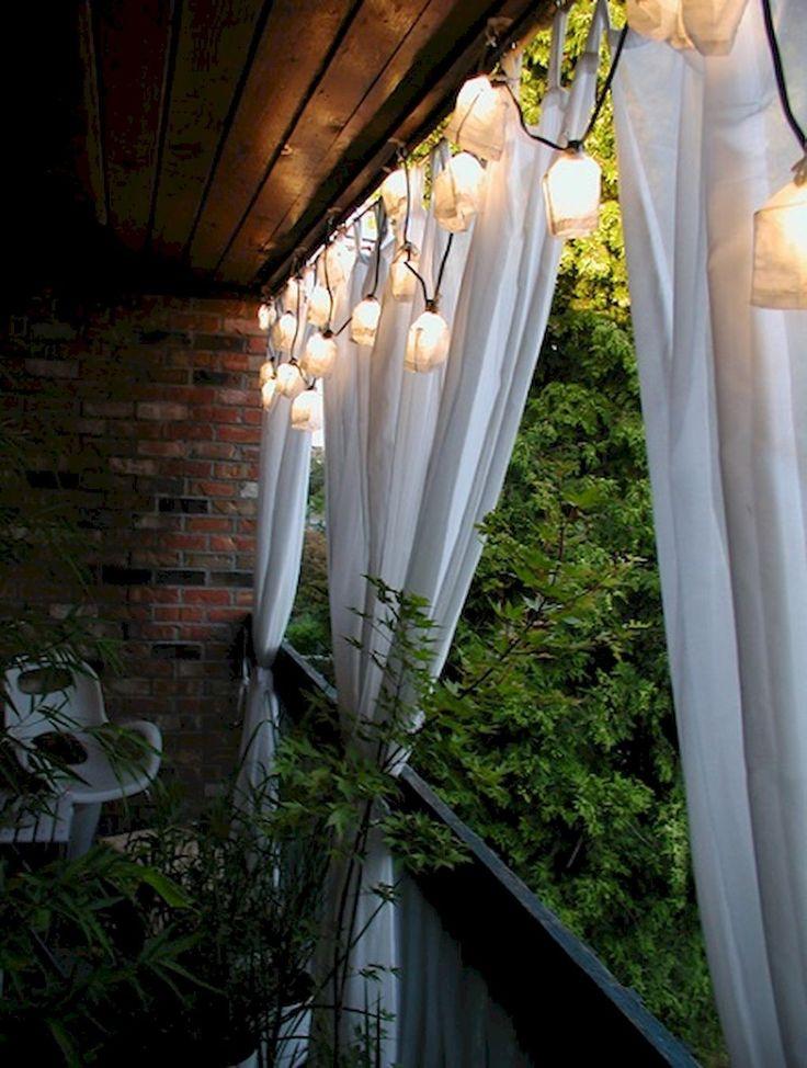 84+ Tiny Apartment Balcony Decorating Ideas #apartment #balconydecor #apartmentd...