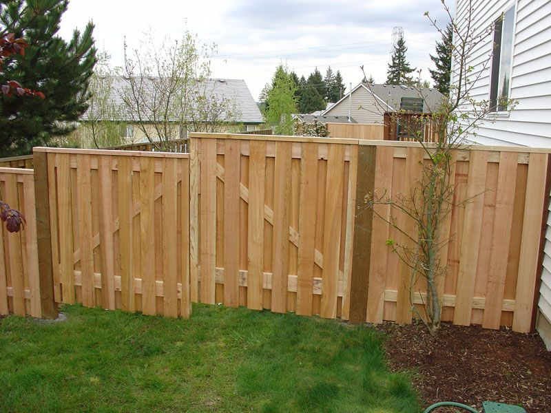 Fence Good Neighbor Fence Fence Ideas Pinterest