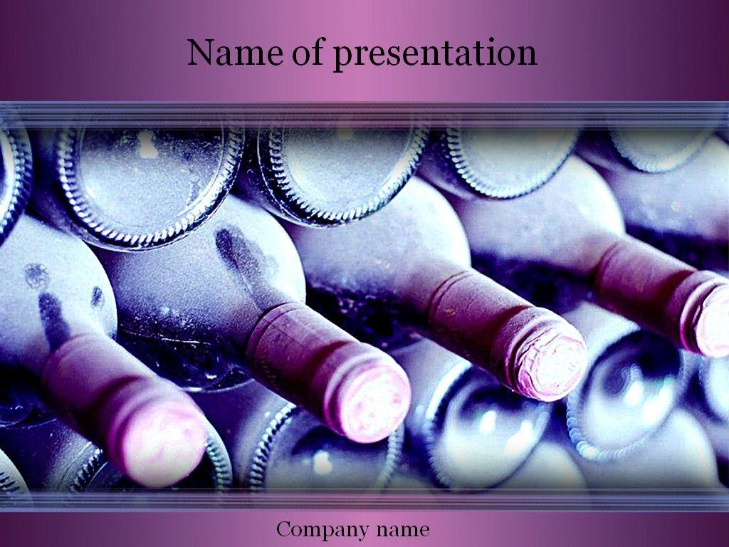 Wine powerpoint template templates pinterest wine wine powerpoint template toneelgroepblik Images