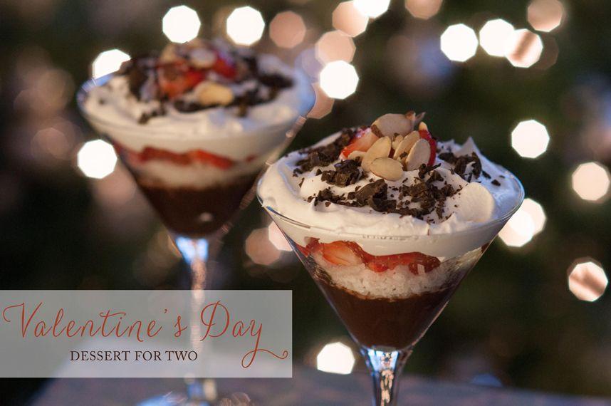 "Valentine's Dessert that's ""skinny!"""