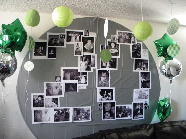 lovely idee deco anniversaire 20 ans id es tommi. Black Bedroom Furniture Sets. Home Design Ideas