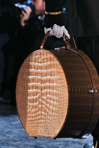 fall 2012 ready-to-wear  Louis Vuitton this looks like luggage my grandma used to carry.