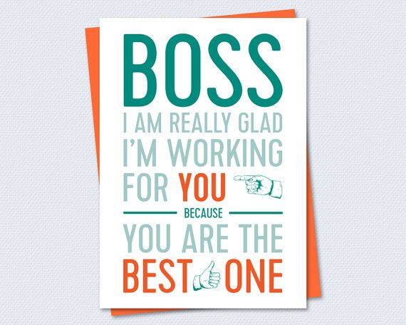 graphic relating to Happy Boss's Day Cards Printable identify Printable Card - Performing for Excellent Manager - Quick PDF