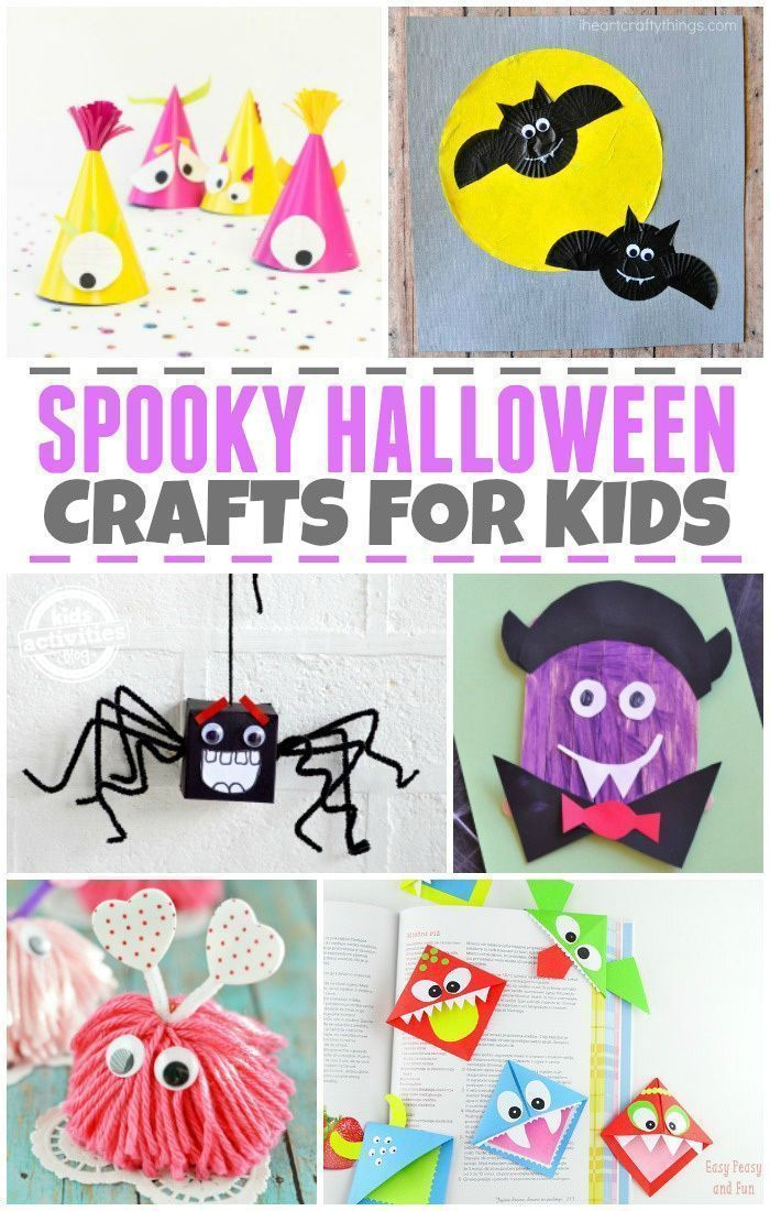 20 Halloween Crafts for Kids Halloween crafts for kids
