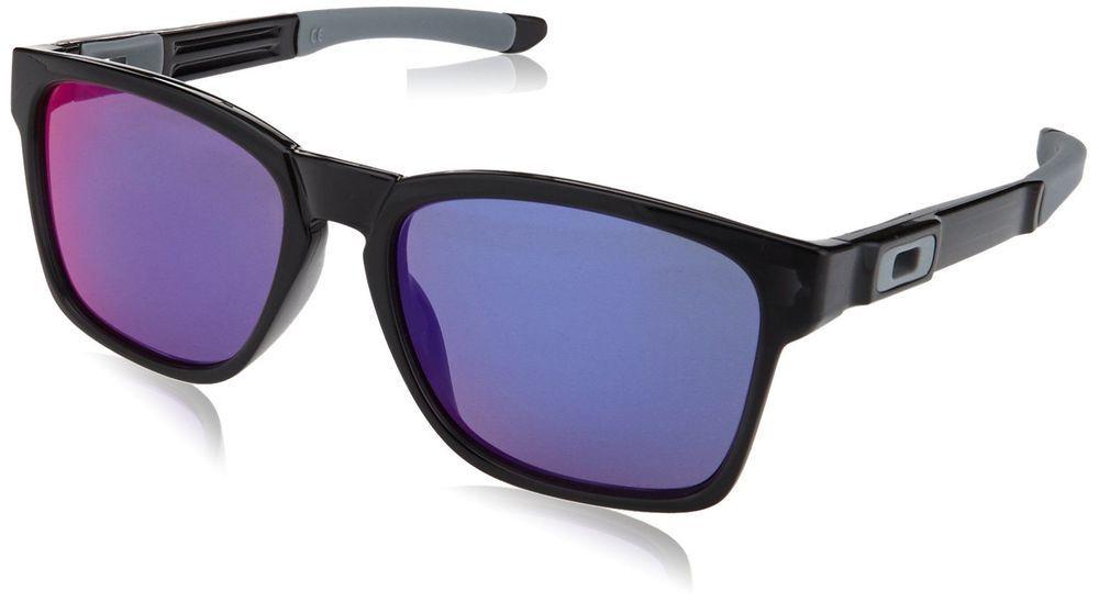 91d614b8e3a Oakley Men s Catalyst OO9272-06 Non-Polarized Iridium Square Sunglasses  Black I (eBay Link)