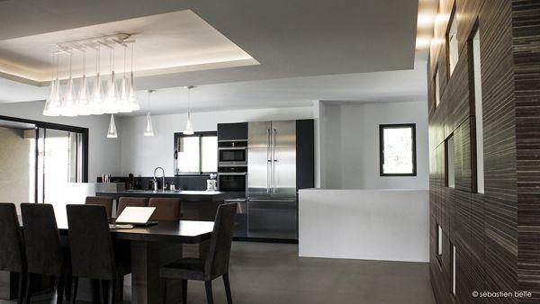 Salon - relooking intérieur maison F - Sebastien Belle architecte ...