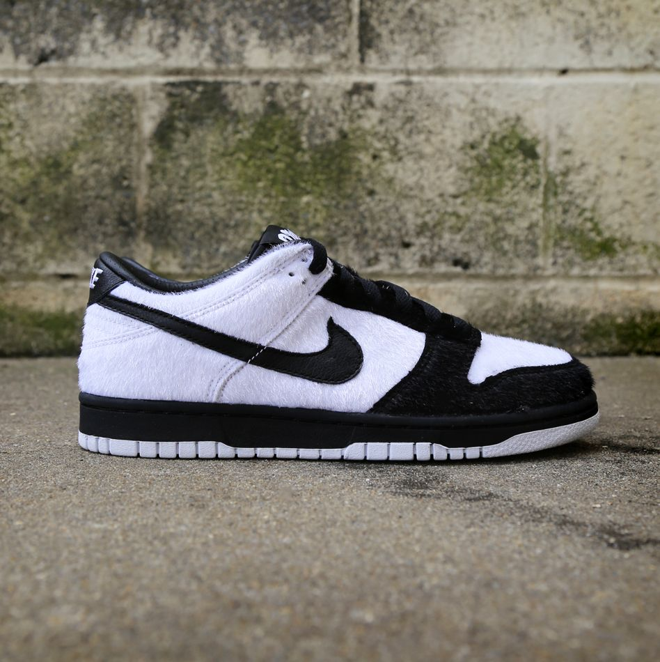 Special edition Panda Fur Nike Dunk Low just for kids $100.