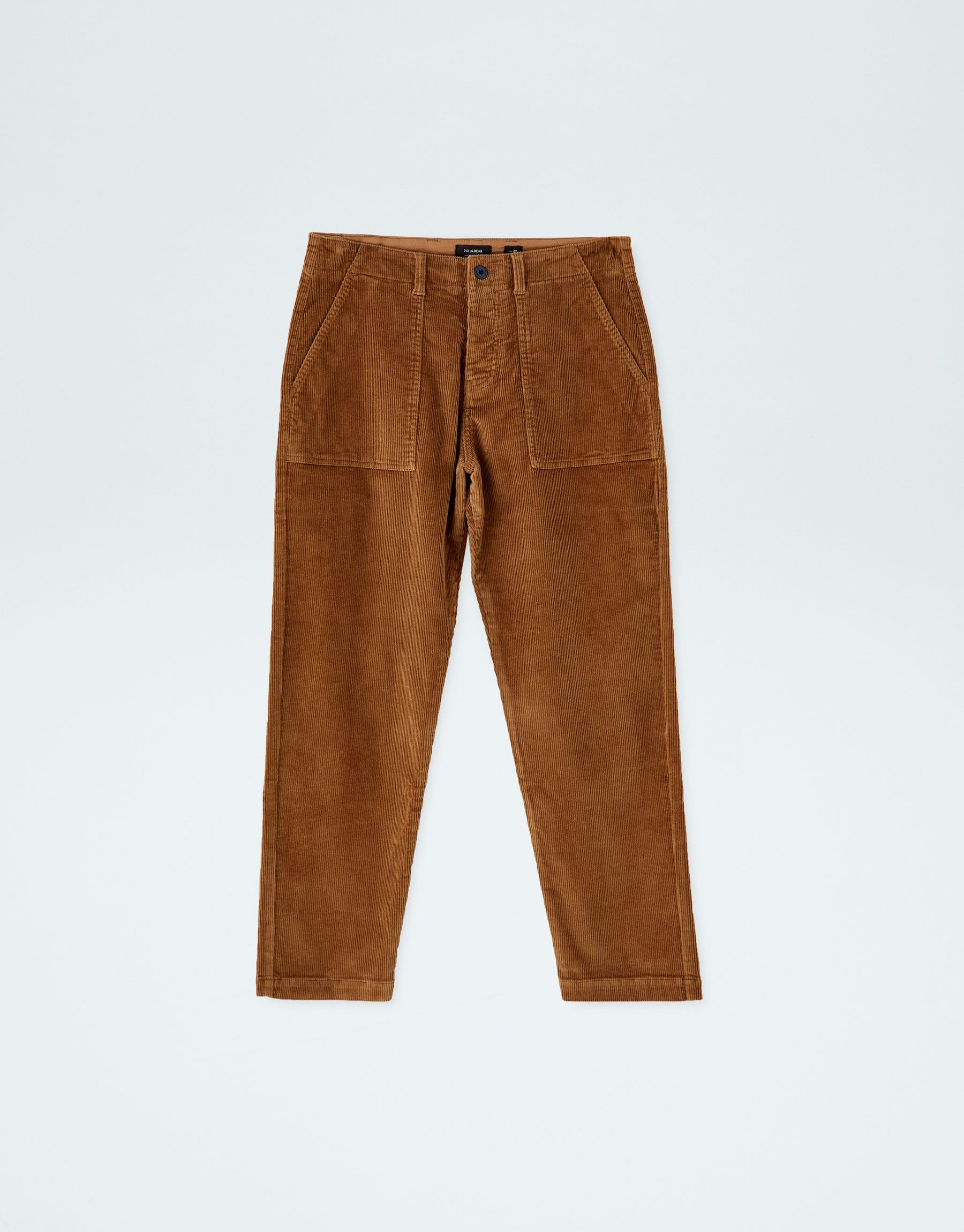 Pantalon Pana Worker Pull Bear Pantalon Pana Hombre Pantalones De Pana Ropa
