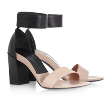 Two-Tone Leather Sandals by Chloé