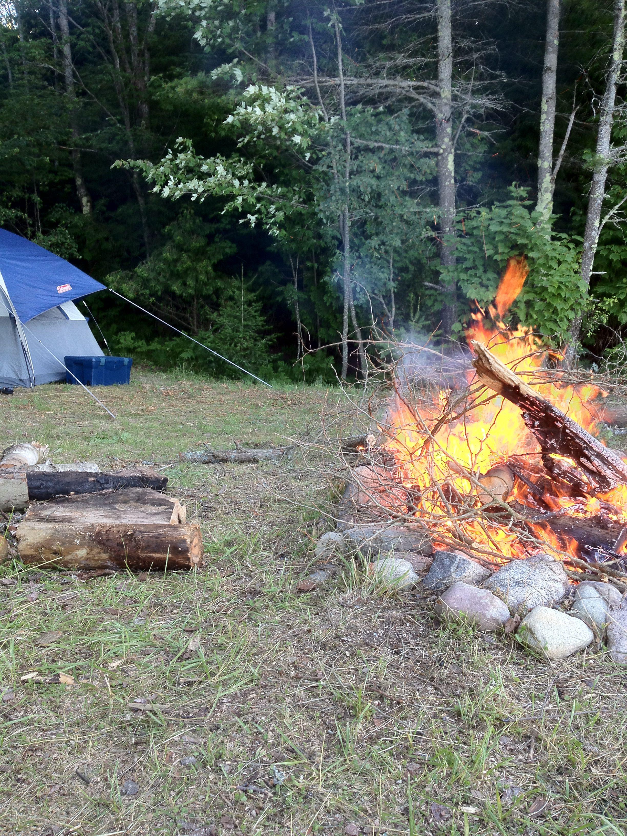 Bond Falls: Camp Near Waterfalls in Michigans Upper Peninsula