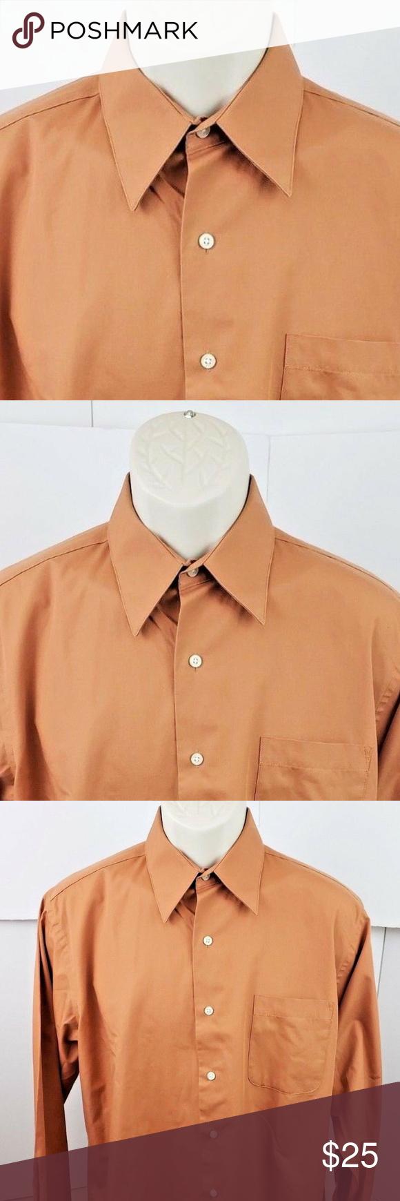 Covington Long Sleeve Dress Shirt 15 15 5 32 33 M Long Sleeve Shirt Dress Shirt Dress Shirts [ 1740 x 580 Pixel ]
