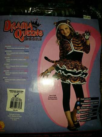 Tigress Costume. Sz M (8-10) $10, pick up only.